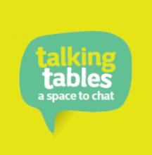 Talking table logo